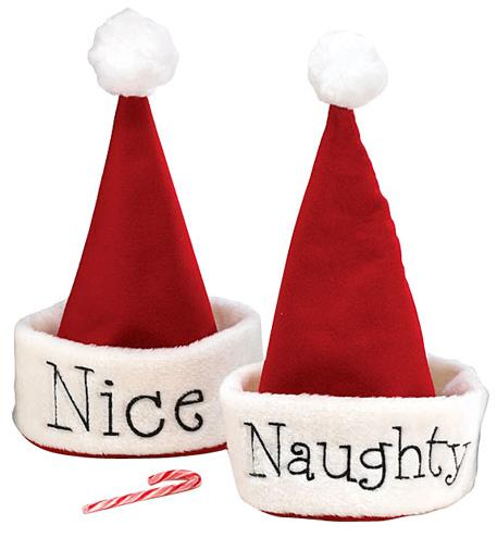Santa naughty nice