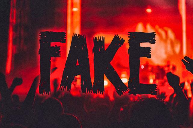 fake worship